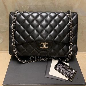 No offer! Chanel lambskin single flap jumbo